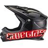 bluegrass Intox Fullface-Helmet black